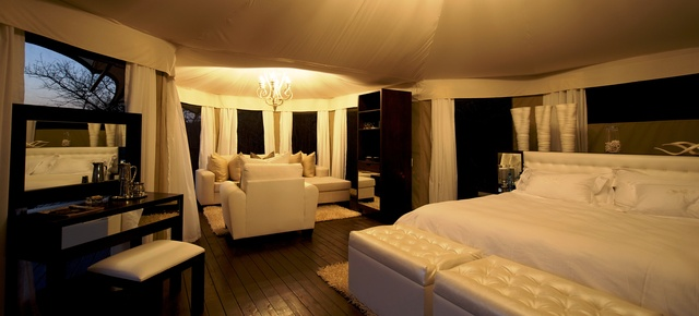 Interior Of The Honeymoon Tent.jpg & Thanda Private Game Reserve LHW - Resorts Online